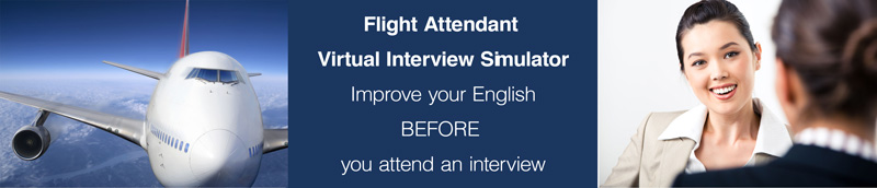 Flight Attendant Virtual Interview Simulator